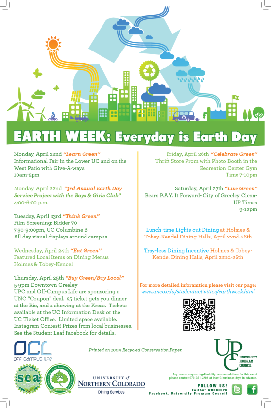 Earth Week 2013